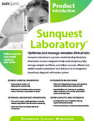 Laboratory Product Brief