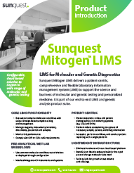Mitogen LIMS Product Brief 2018