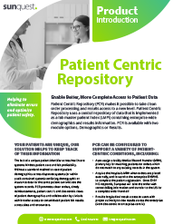 Patient Centric Product Brief