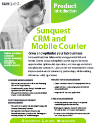 CRM and Mobile Courier Product Brief