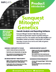 Mitogen Genetics Product Brief