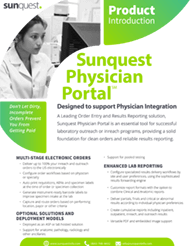Physician Portal Product Brief 2018