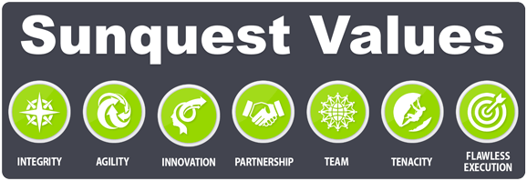 Sunquest Values